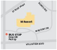 Game Day Express - M Resort Map