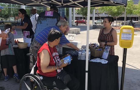 RTC kicks off Summer Heat Campaign helping transit riders stay cool