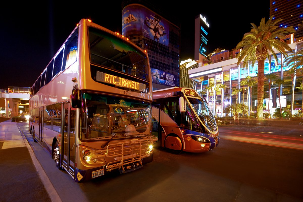 RTC transit service on the strip