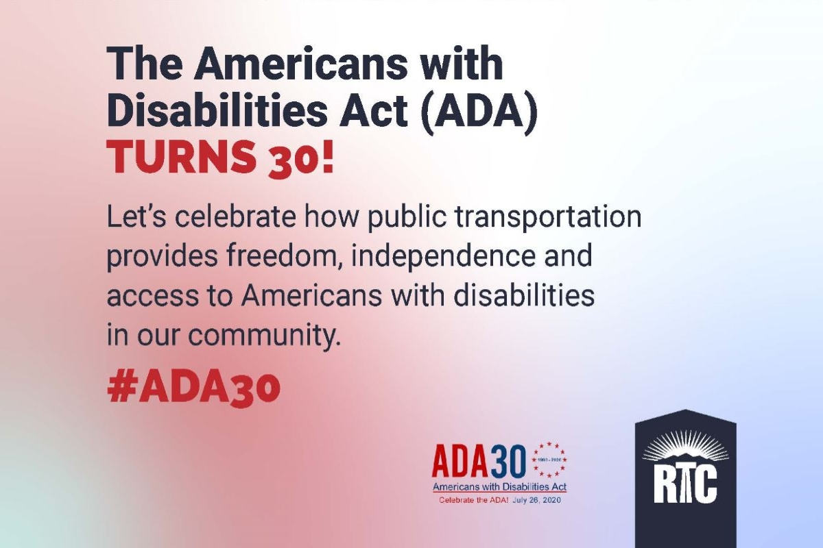 RTC celebrates 30th anniversary of Americans with Disabilities Act (ADA)
