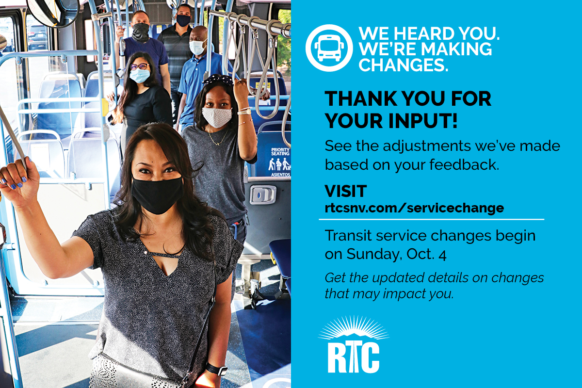 Community input helps shape transit service changes