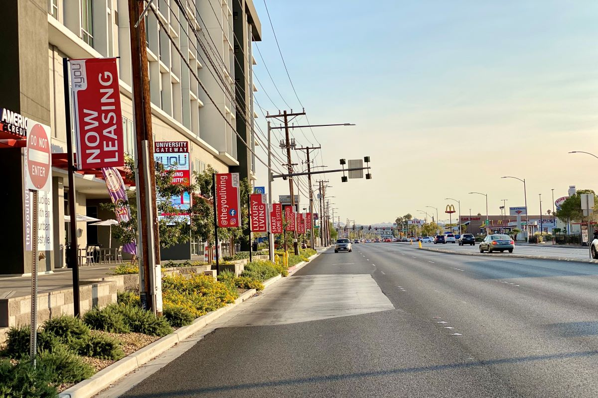 The next phase of the Maryland Parkway BRT route is here
