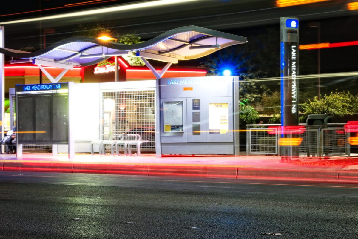 RTC bus stop additions light the way for safer transit experience