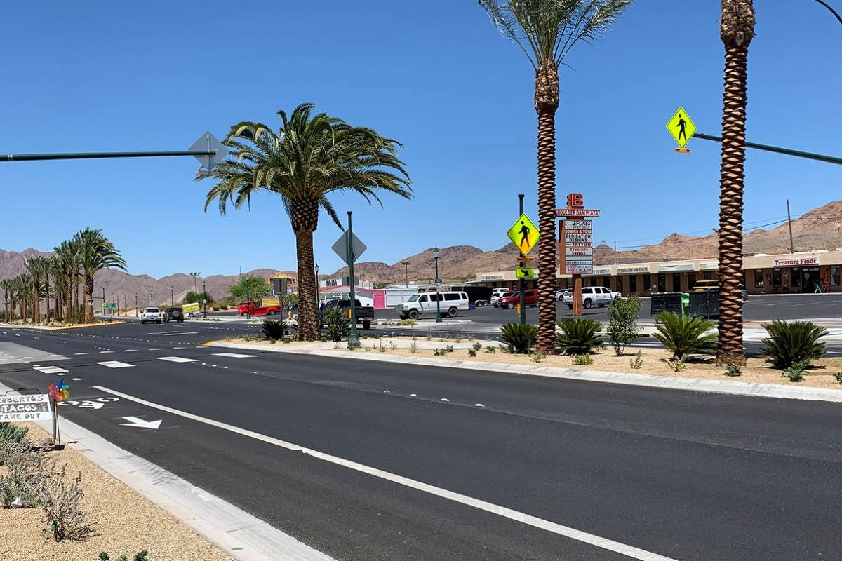 Fuel for Thought: Boulder City home to recent Complete Streets project