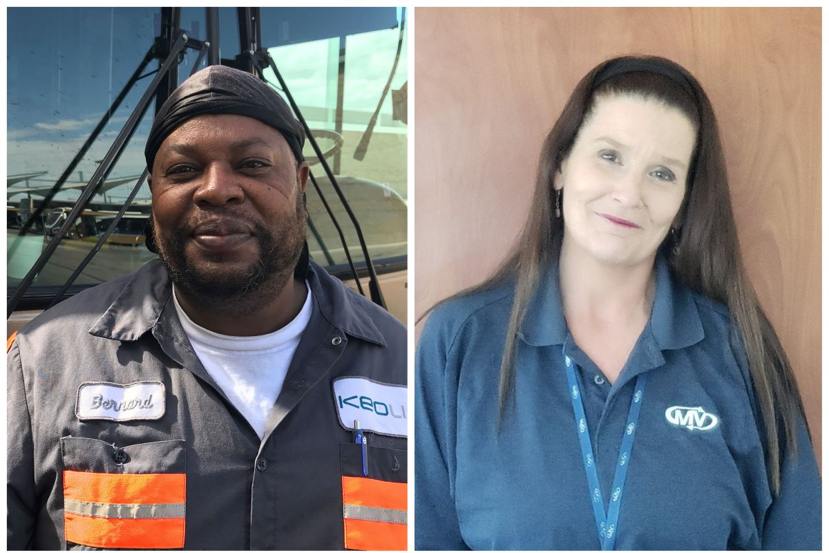 Paratransit operator and bus mechanic keep riders safe during the pandemic
