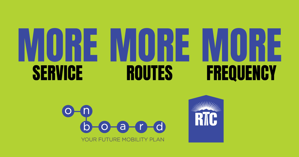 RTC Seeks Community Feedback on Proposed Transit Service Changes