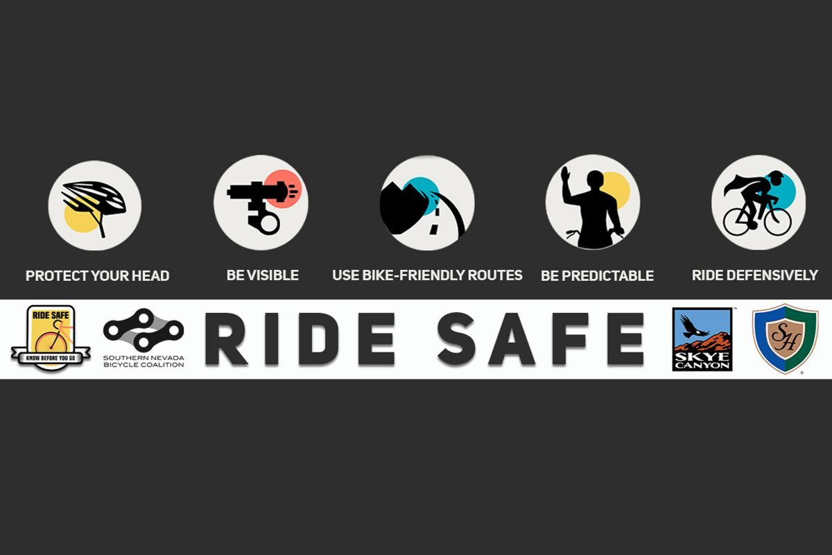 May is National Bike Month, let's celebrate by riding safe
