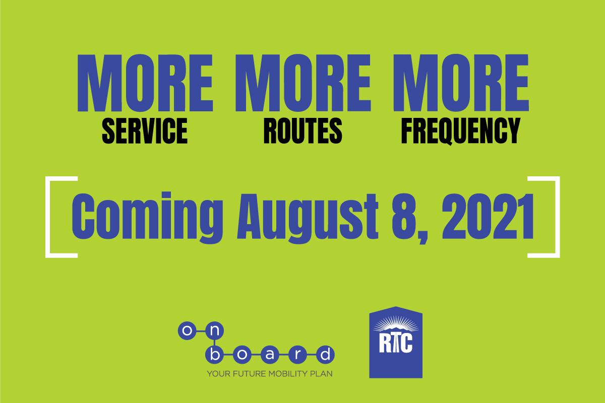 More. More. More: Transit service updates right around the corner