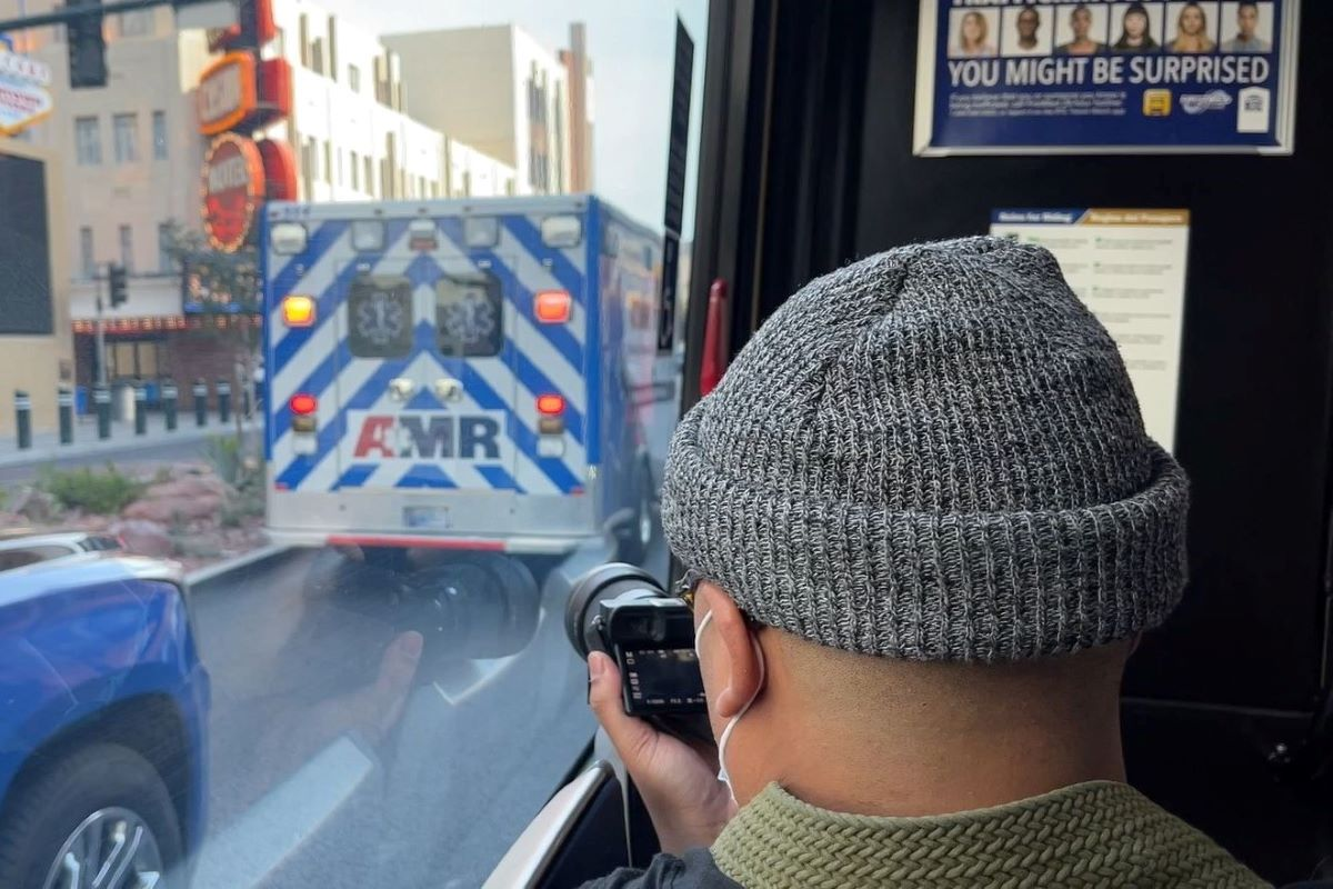 Long time transit rider, now photographer of RTC buses