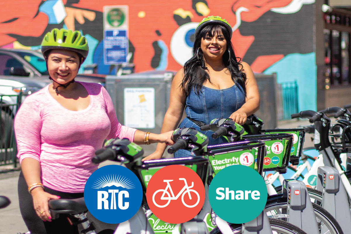 Saddle up! RTC Bike Share is growing