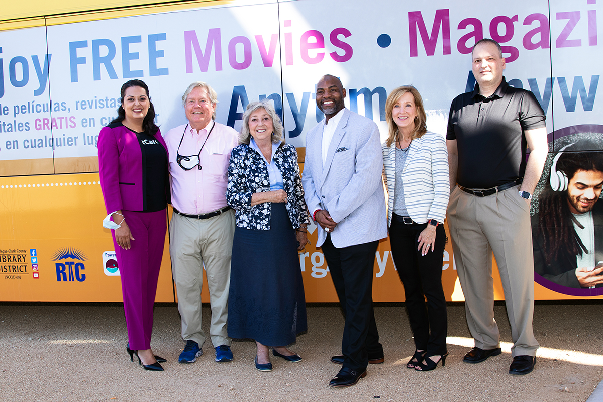 The Las Vegas-Clark County Library District Partners with RTC to Offer Transit Riders Free Access to  eBooks + Audiobooks + Magazines + Movies