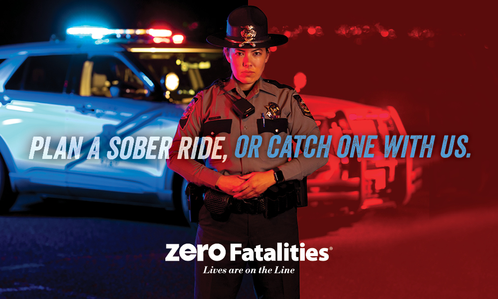 Plan a sober ride, or catch one with us